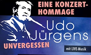 Udo Jürgens – unvergessen
